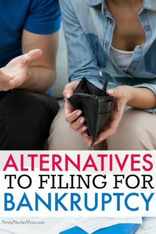 bankruptcy alternatives